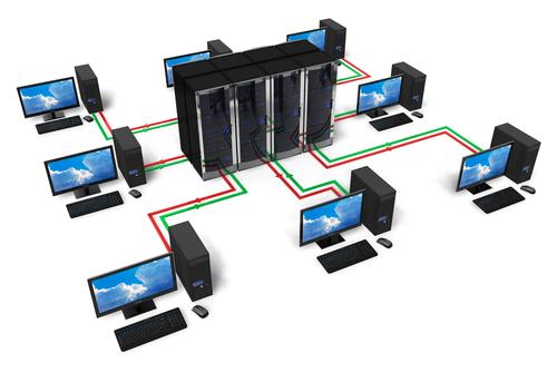 infrastructure réseau informatique