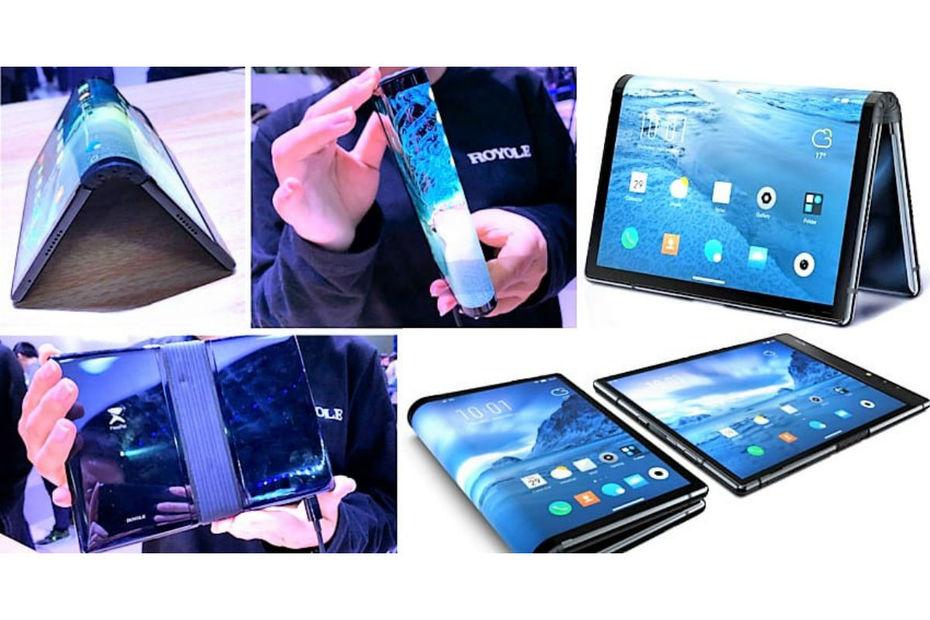 téléphone pliable chinois